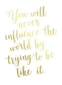 iamanalfa; influence the world