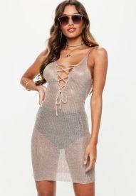 Pink Metallic Dress €39,55