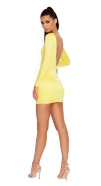 Yellow Open Back Dress €39,55