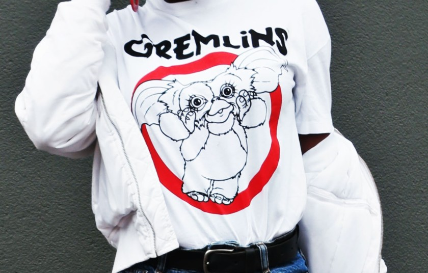 Gremlins t-shirt by Bershka