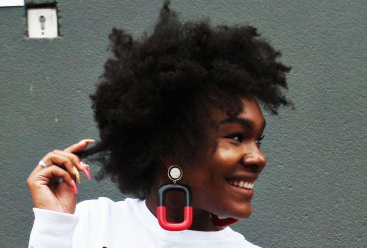 Earrings from Zara