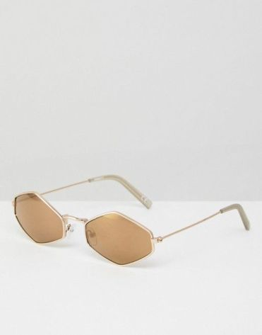 ASOS - Angular Shades in Brown €11,49