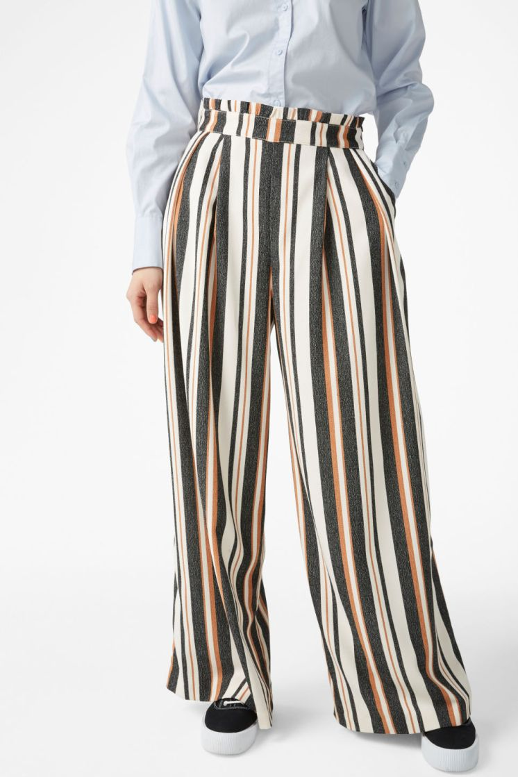 Wide leg trousers by Monki €15
