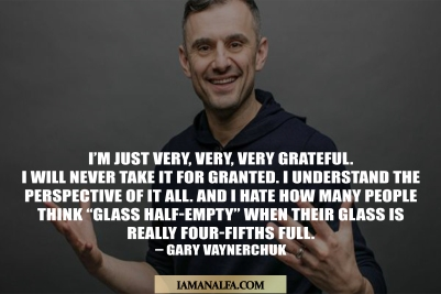 Motivational quote by entrepreneur Gary Vaynerchuk